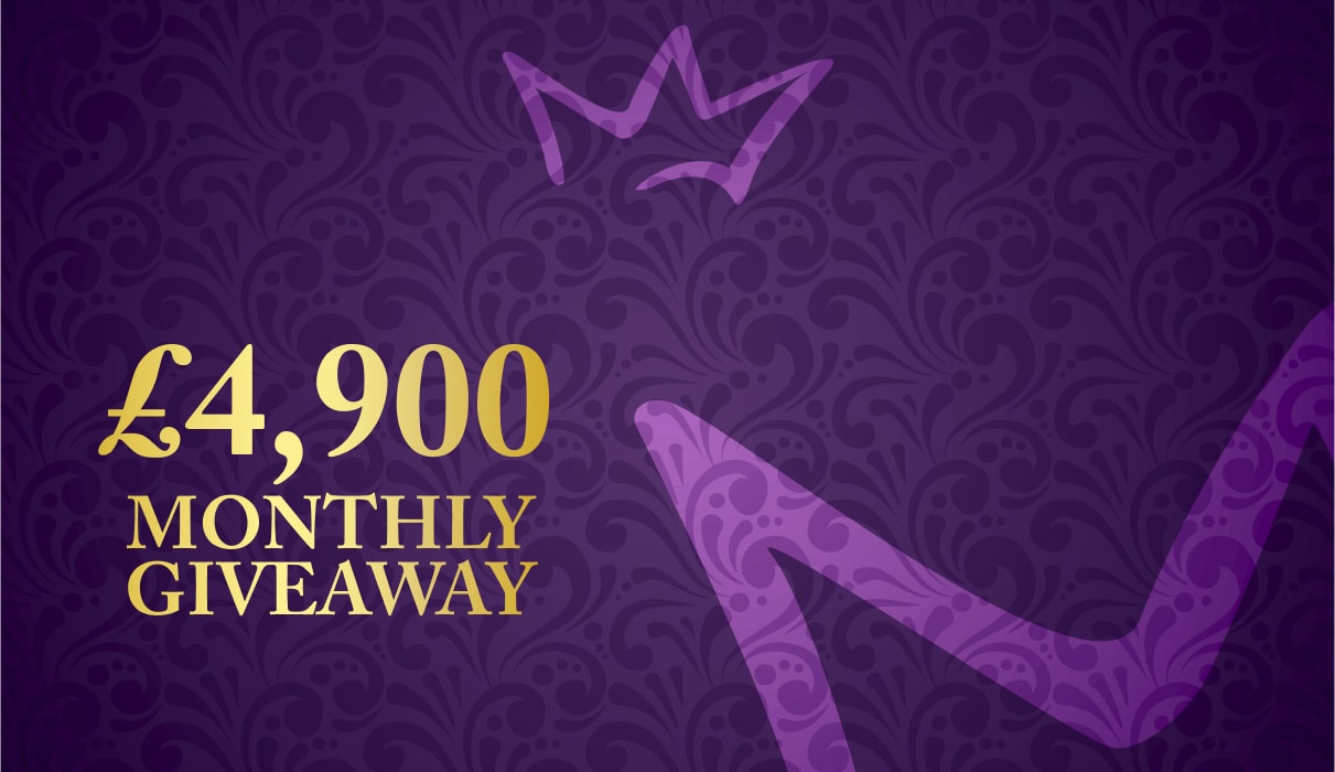 £4,900 Monthly Giveaway