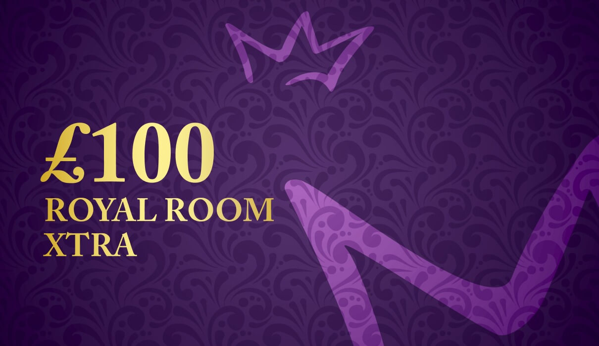 £100 Royal Room Xtra