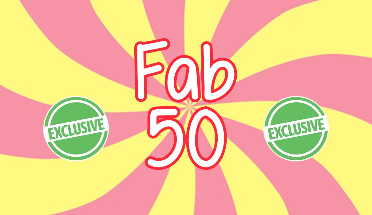 Katie's Fab 50!
